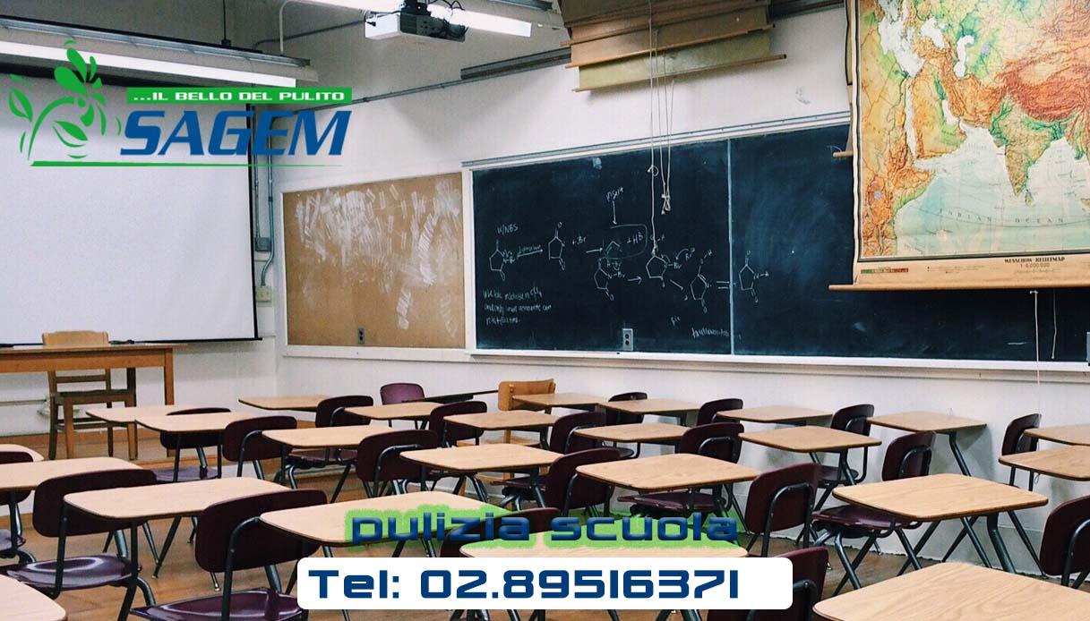 Melegnano - Impresa di pulizia scuola a Melegnano